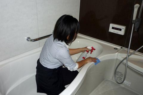 バスルームお掃除