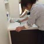 定期清掃 Nクリニック様 洗面台清掃