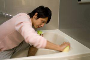 風呂,トイレ掃除
